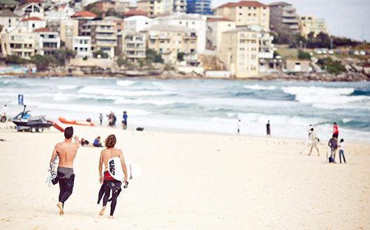 Destination surf Australie