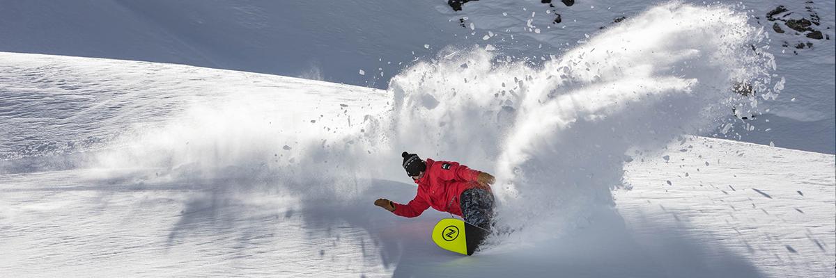 snowboardeur pro