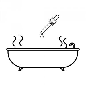 Huiles essentielles et bain