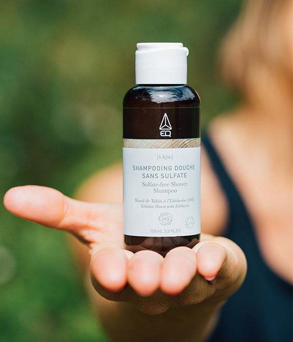 soins sportifs bio shampooing naturel