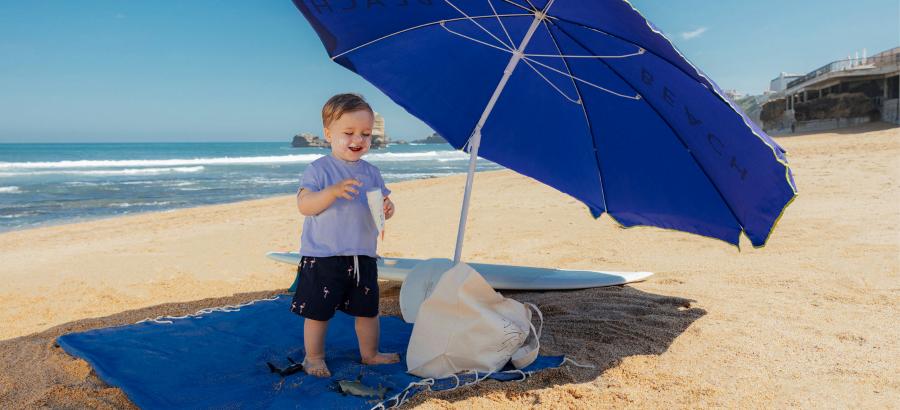 Choisir la crème solaire adaptée à son bébé