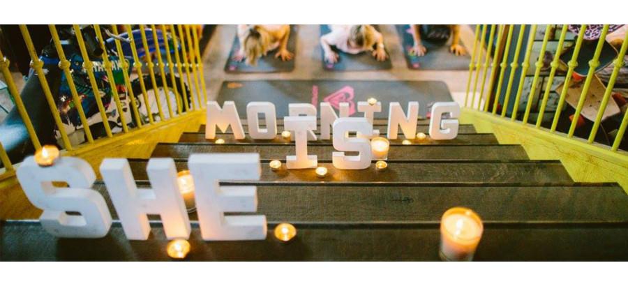 """Enfin une bonne raison de se lever tôt - EQ et Roxy présentent """"She is Morning"""""""